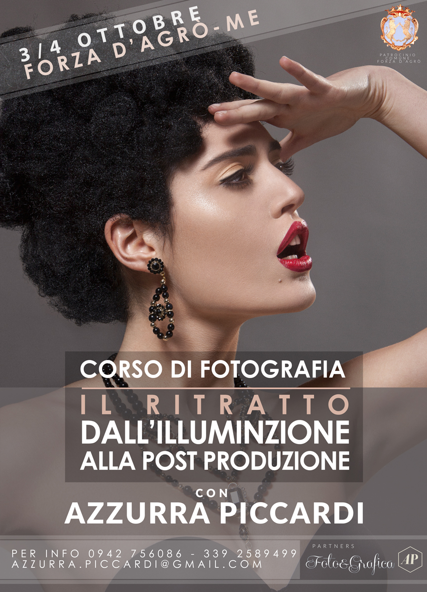 Copy of Workshop di Fotografia ll ritratto ed il beauty.