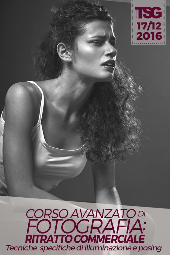 Corso Avanzato di Fotografia: Ritratto Commerciale
