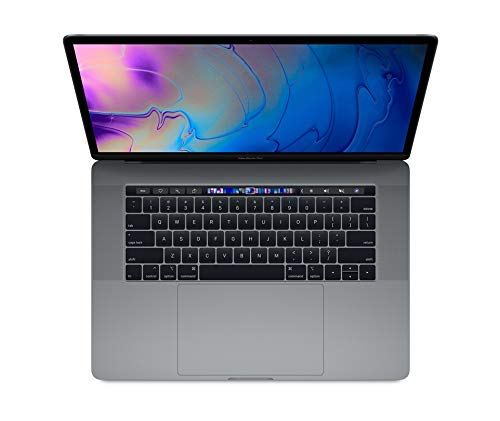Apple MACBOOK PRO 15-inch Touch Bar - 2.6GHz 6-core 8th-generation i7 processor, 512GB - Space Grey