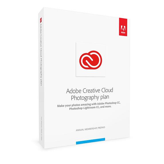 Adobe Creative Cloud - Abbonamento per fotografi
