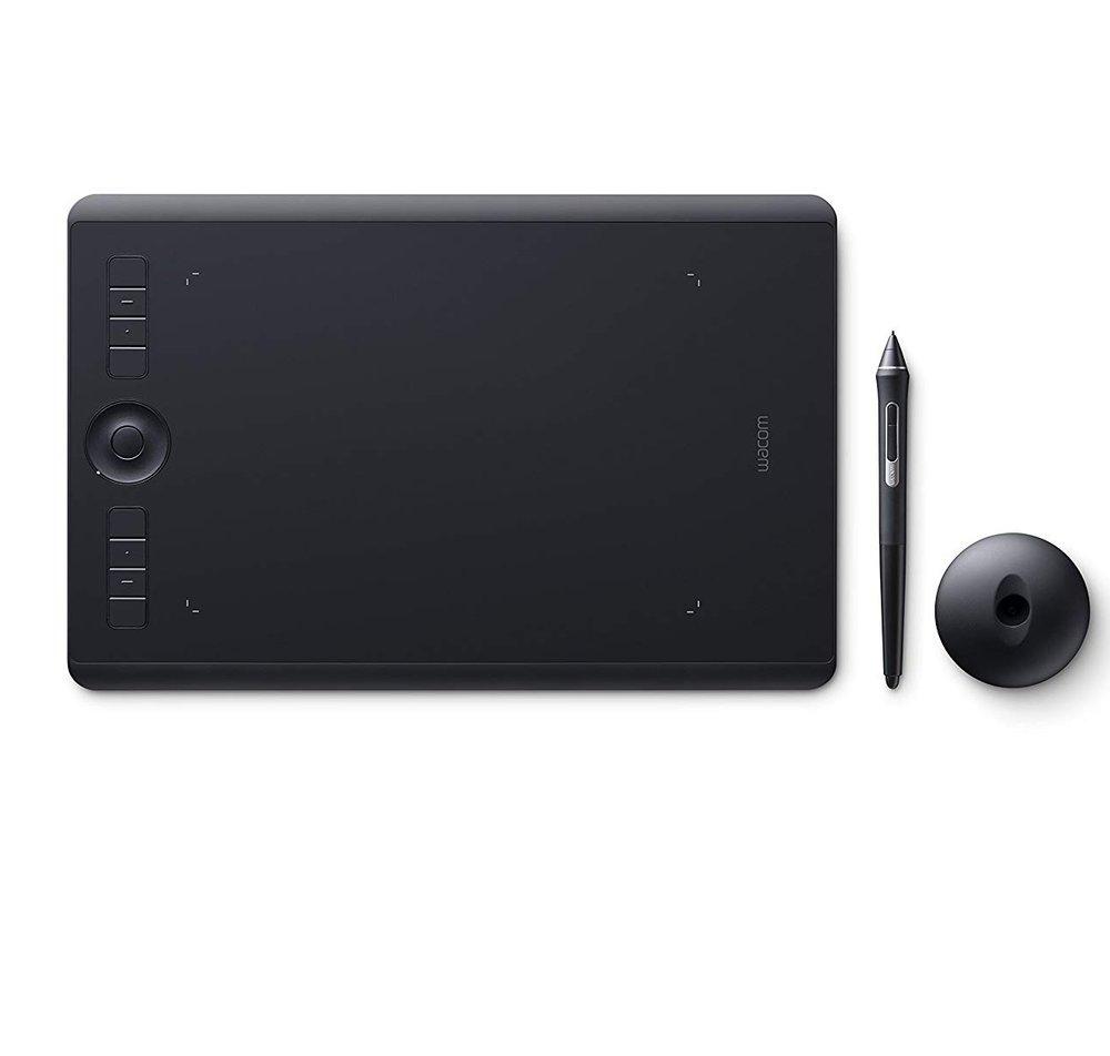 Wacom Intuos Pro Medium - Tavoletta Grafica con penna sensibile alla pressione