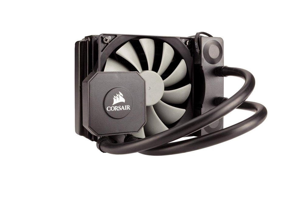 Sistema di Raffreddamento a Liquido - Corsair Hydro H45 All-in-One Liquid CPU Cooler Radiatore da 120 mm, Ventola Singola SP120 PWM, Nero