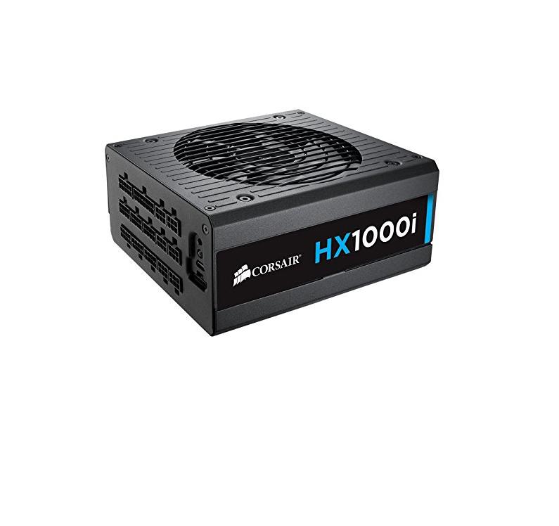 Corsair HX1000i Alimentatore PC, - Completamente Modulare, 80 Plus Platinum, 1000 W, Digital, EU