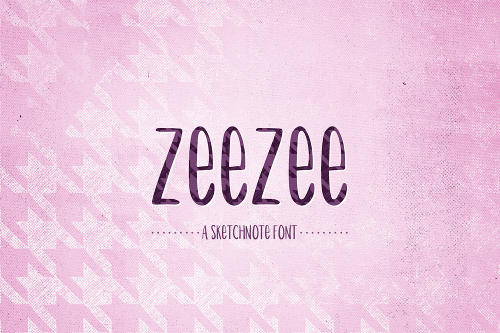 ZeeZee: Sketchnote Font -