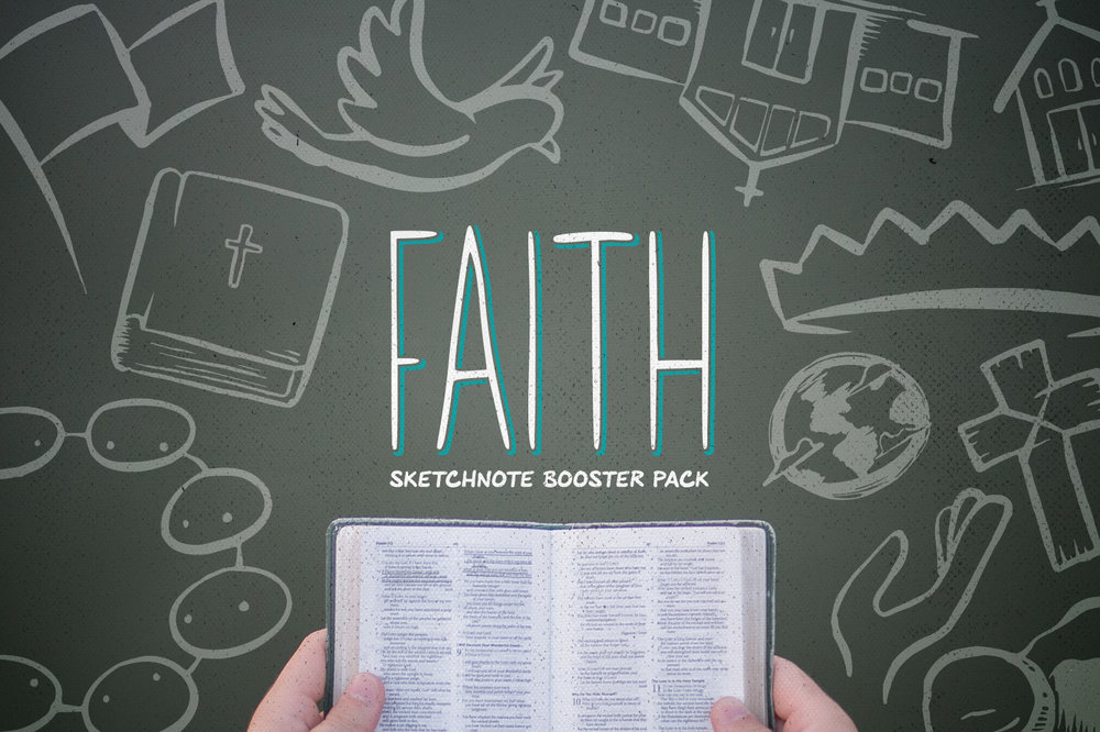 Faith: Sketchnote Illustration Booster -