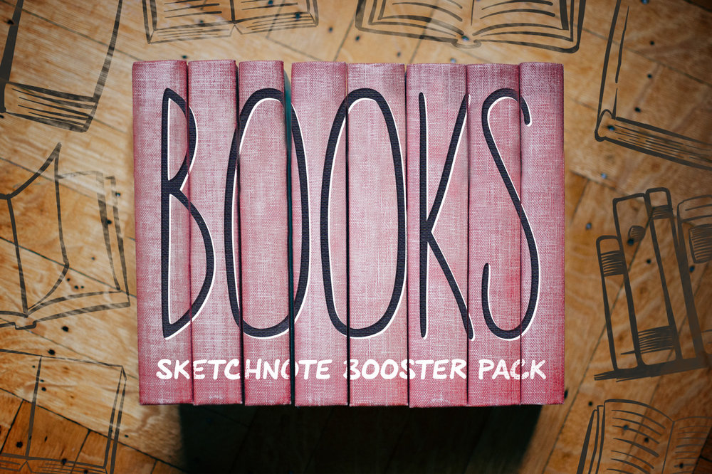 Books: Sketchnote Illustration Pack -