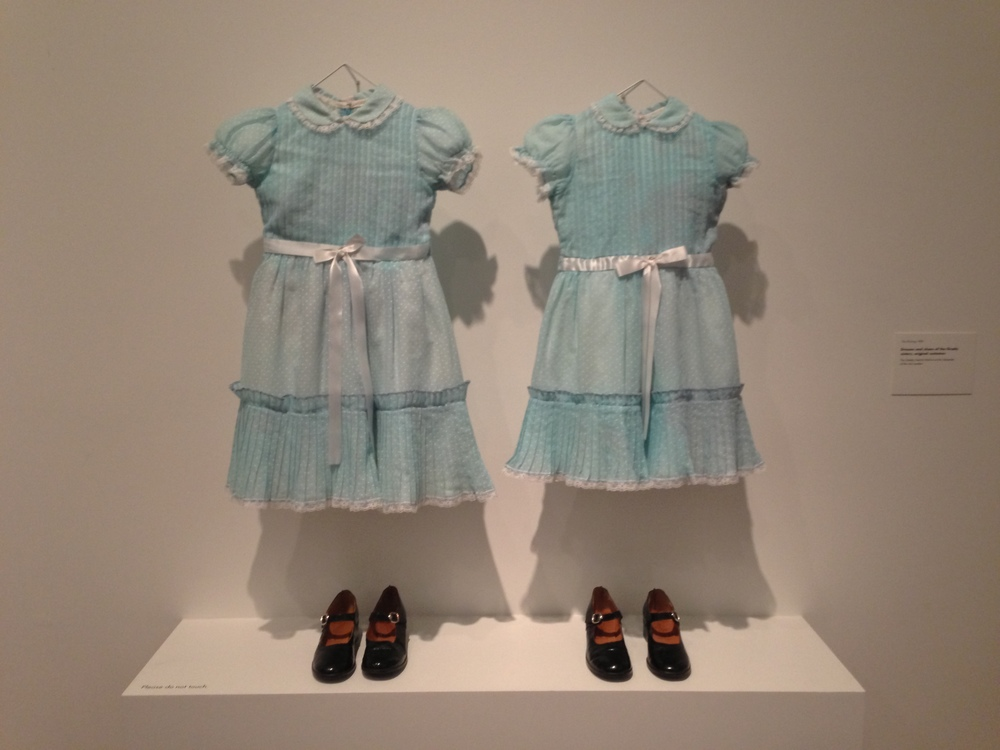 Creepy twin girls' dresses from the Shining