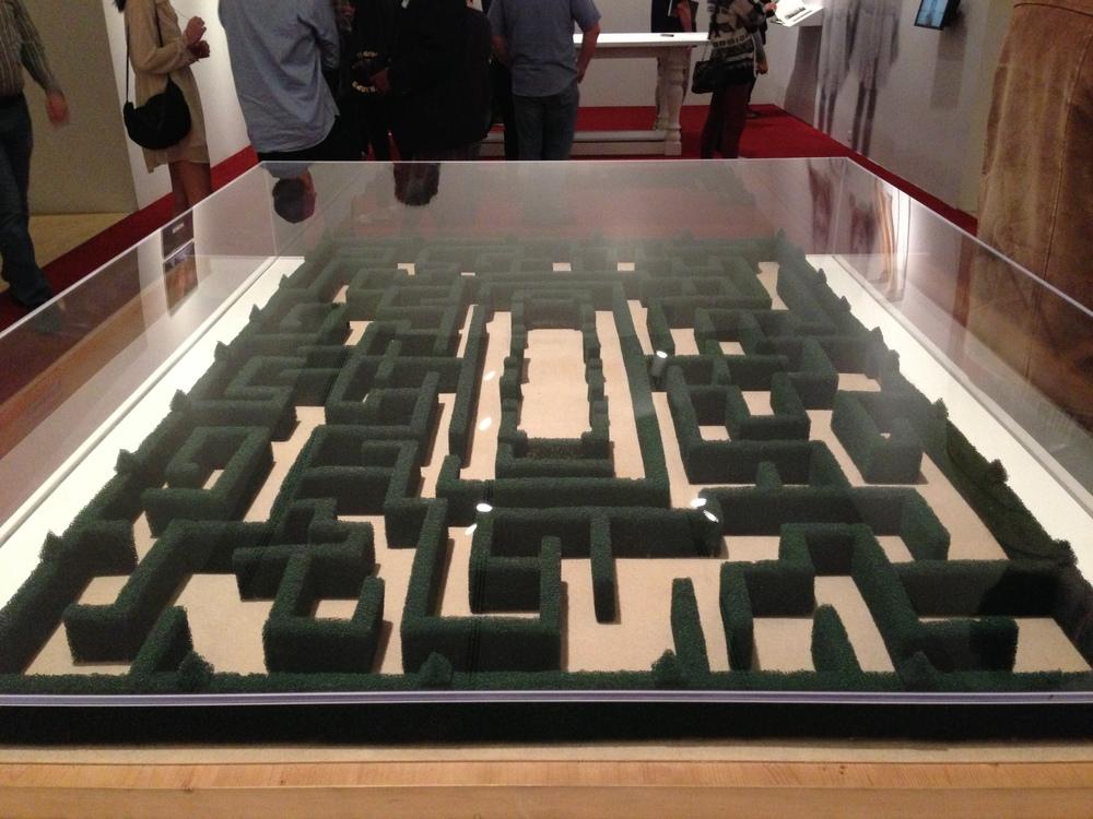 Model of the Overlook Hotel maze