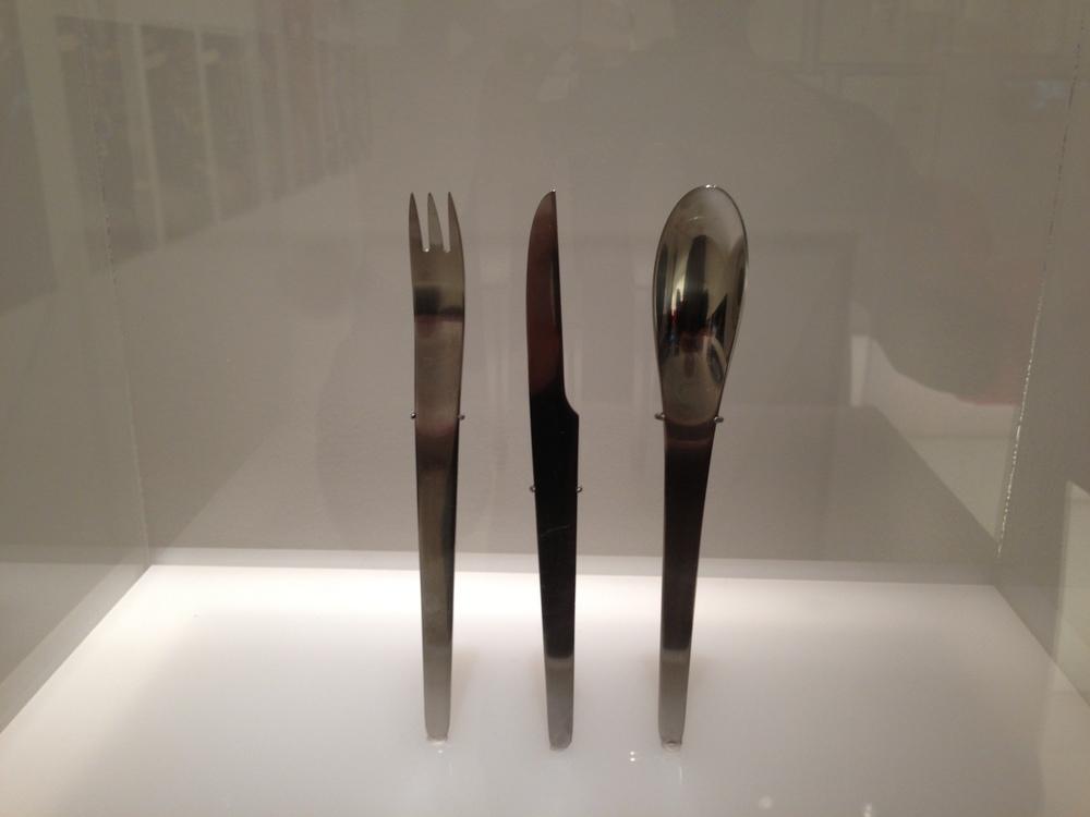 Amazing futuristic silverware from 2001