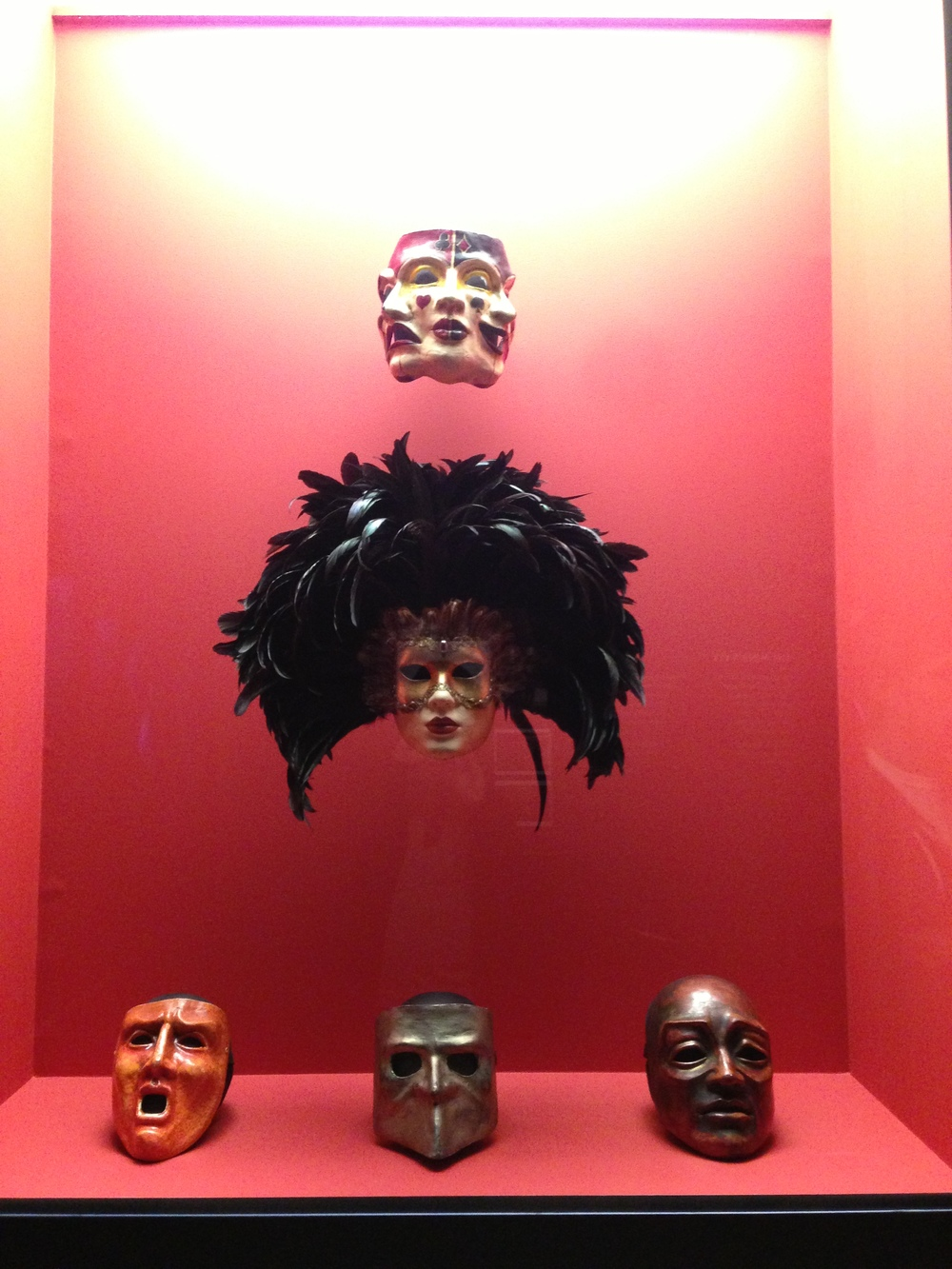 Last but not least, a sampling of the spooky masquerade masks from Eyes Wide Shut.