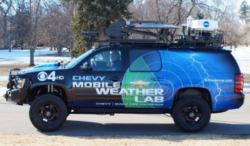 Denver Station Takes Wraps off Mobile Weather Lab — FTVLive