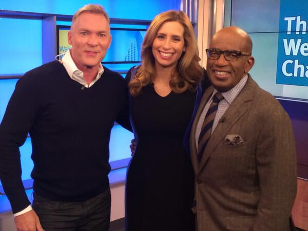 Sam Champion crashes Wake up with Al