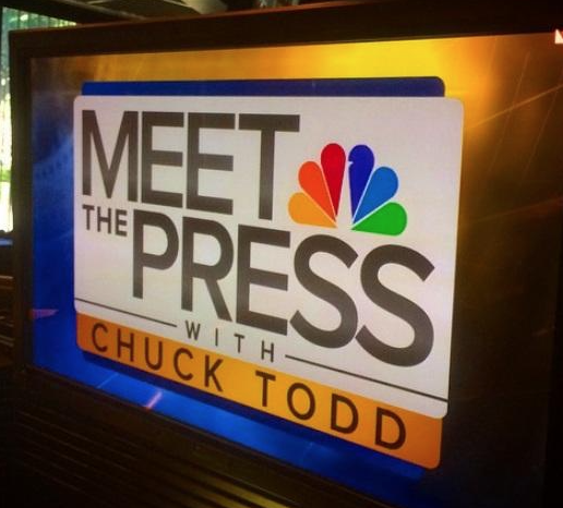 meet the press ratings since chuck todd took over for jay