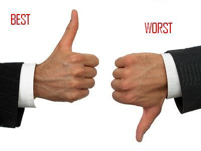 best and worst | Euro Palace Casino Blog