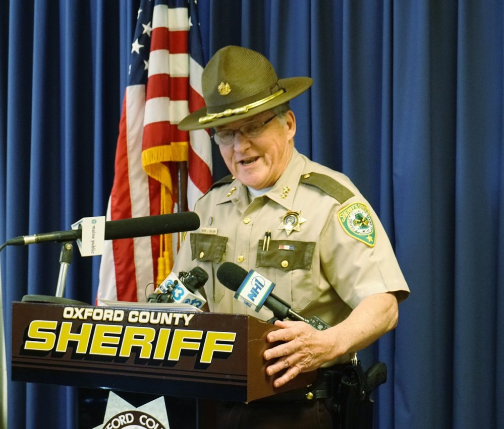 Oxford County Sheriff Wayne Gallant