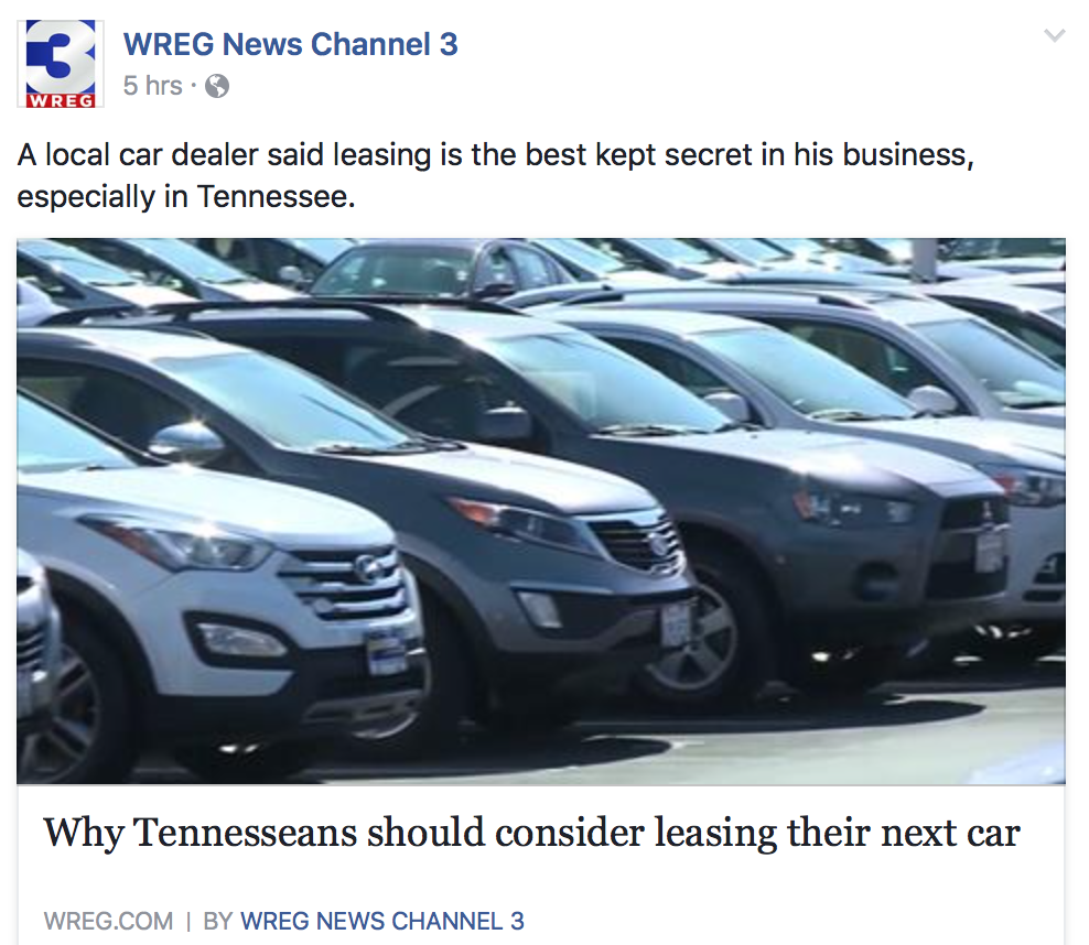 News Story or Car Commercial? — FTVLive