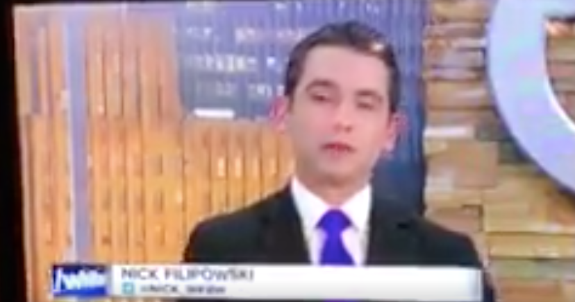 Anchor Cries as he Says Goodbye to Buffalo — FTVLive