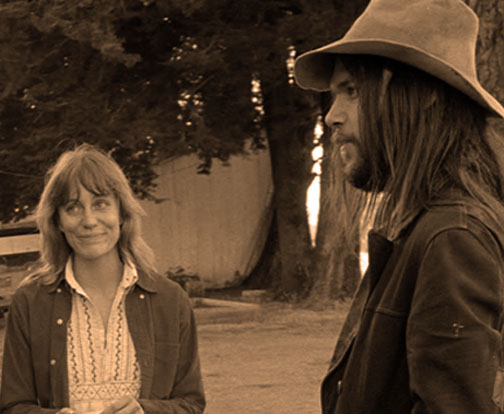 Carrie Snodgress and Neil Young