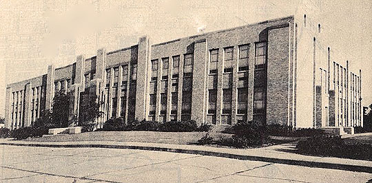 Calvin Coolidge School in Peoria back in the day.