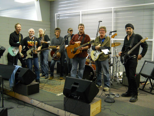 The Guitar Army, Don Mabus, Craig Moore, Dave Chastain, Doug Johnson, Matthew Warren, Darren Peacock, Mark French, Greg Williams.