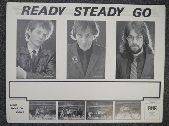 The original 1983 Ready Steady Go who will reunite during Greg Williams' set, along with other guests and play some powerhouse versions of iconic 1967 Beatles classics.