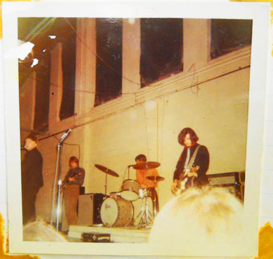The Yardbirds at Expo Gardens, Peoria, Illinois, December 28, 1966
