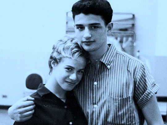 Carole King and Gerry Goffin in the early 60's.