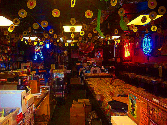 As you can see from this shot of the inside of Younger Than Yesterday, Little Golden Records are still a part of Craig's life.