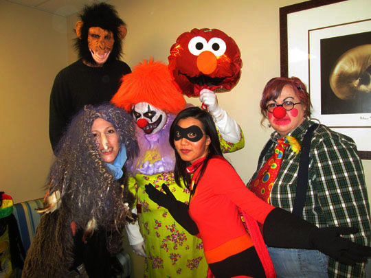 great costumes and always a fun place to stop by its the friendliest and most fun dental office in the