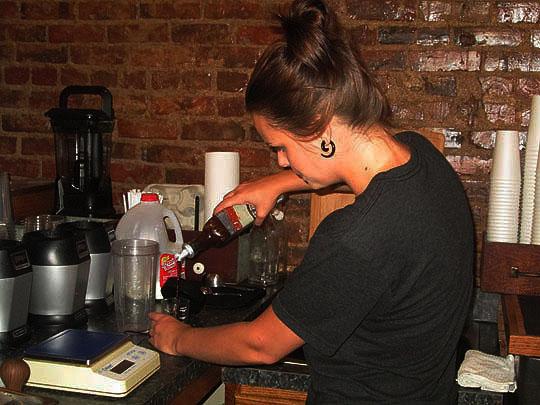 starbucks coffee machine barista