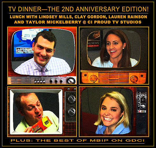 TV Dinner—The 2nd Anniversary Edition! Lunch With Lindsey
