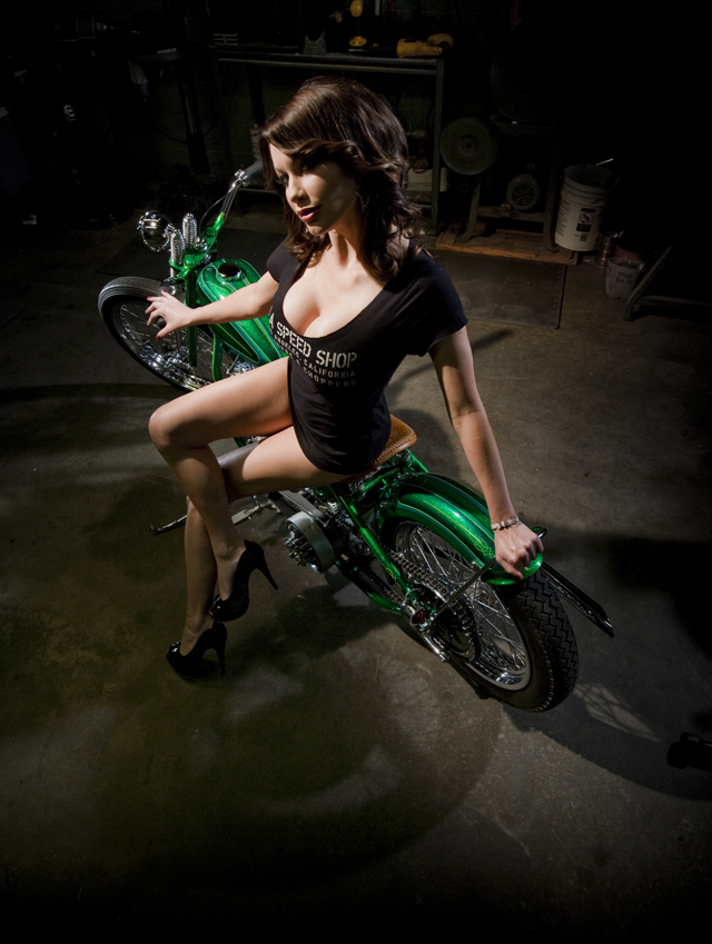 Chopper Girl LA Speed Shop 2