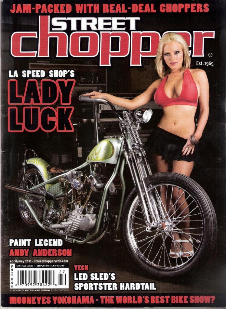 Cover: Street Chopper Magazine
