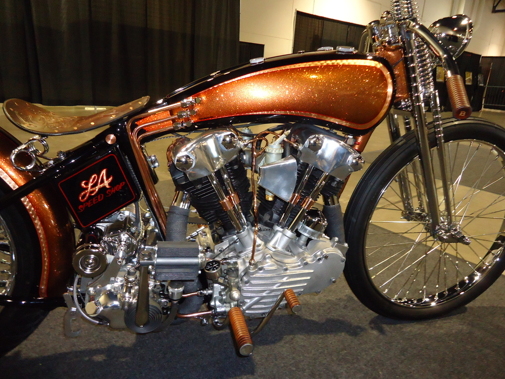 Replica 1947 Knucklehead engine