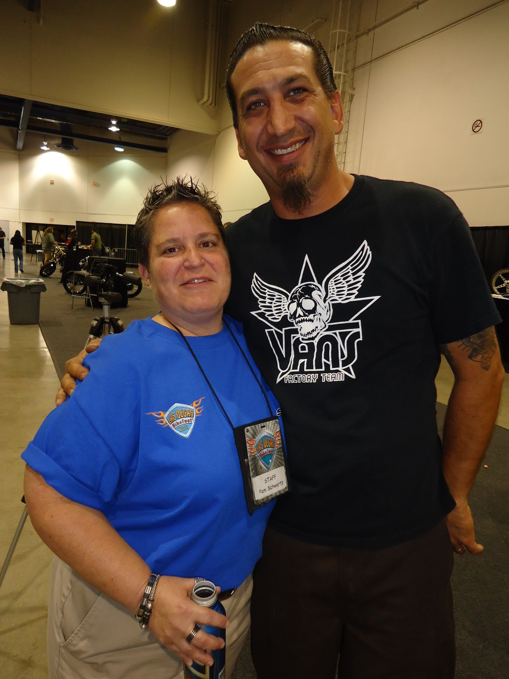 Chris & Pam (part of the amazing LV Bikefest Staff)