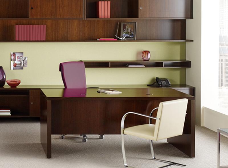 Escritorios ejecutivos muebles de escritorios de oficina for Muebles de oficina knol