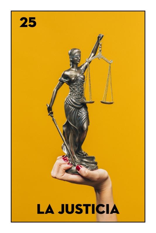 25 La Justicia