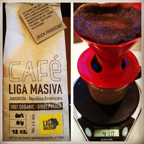 almajnun :     Liga Masiva #coffee (Taken with  instagram )