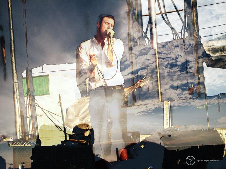 Hamilton Leithauser, lead singer of The Walkmen; 2013.