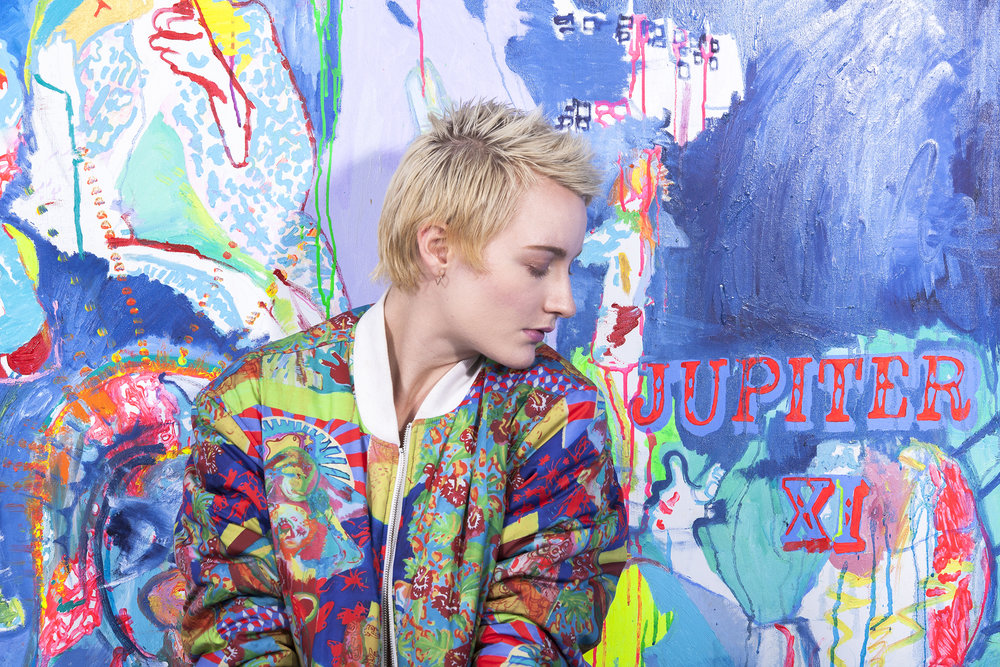 Erin Delaney wearing:Jupiter XI designed by: Ursula Andreef