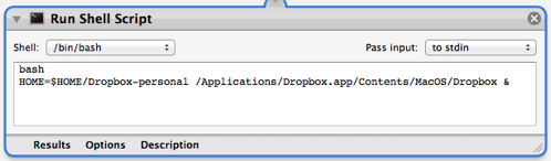 Automator application screenshot