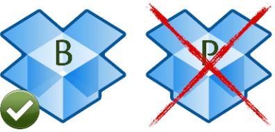 Dropbox second instance not supported