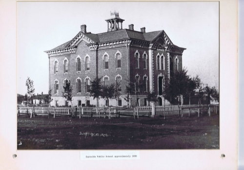 The Eastside School, Circa 1880.