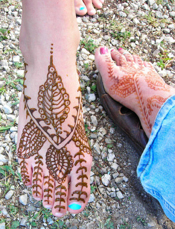 Henna Tattooed Feet.jpg