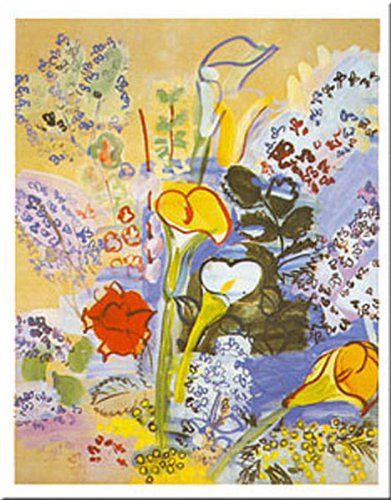 Bouquet dArums by Rauol Dufy 1877-1953.jpg
