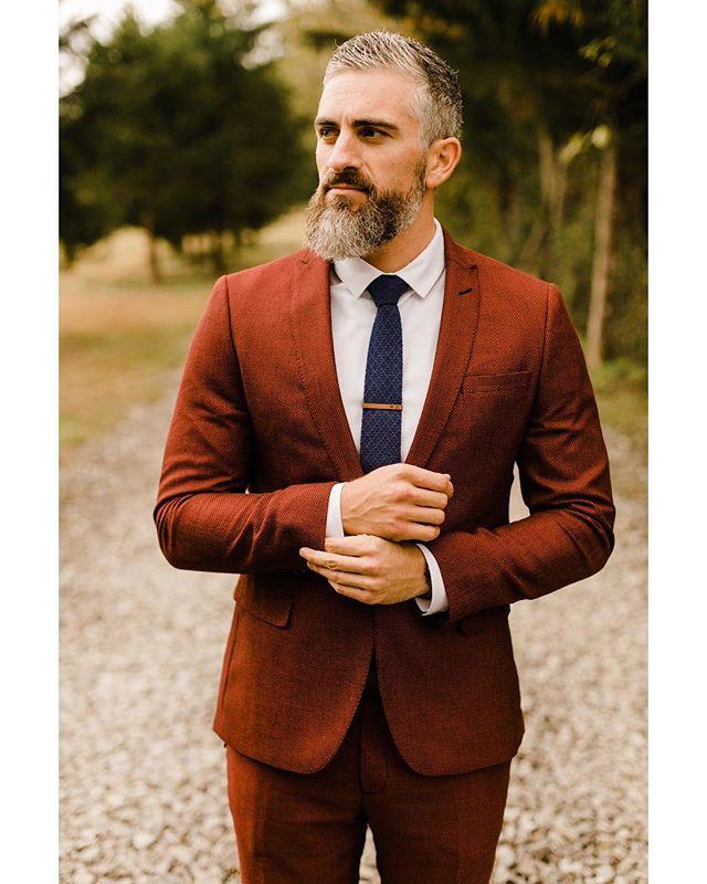 Man got style on his wedding day👌