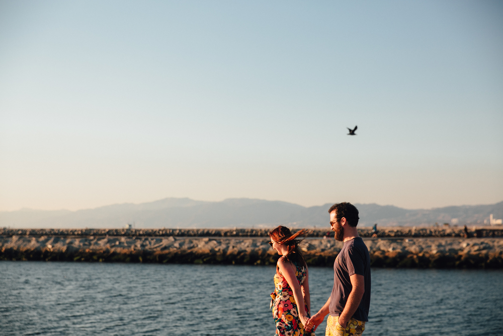 los-angeles-beach-engagement-photography