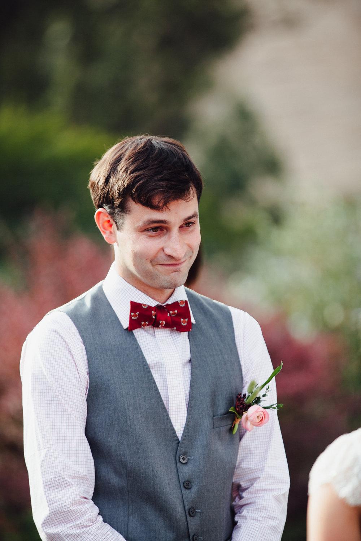 A sweet fall wedding at Bloomfield Farms in Petaluma, California.