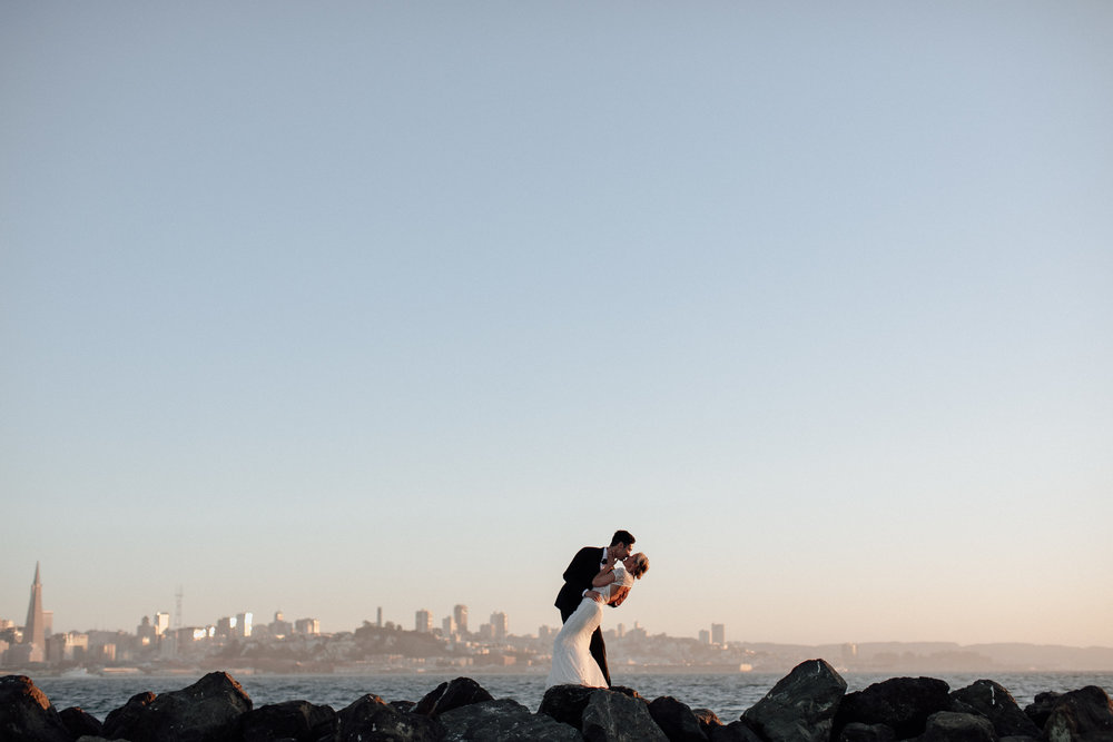 Treasure Island Wedding Portraits