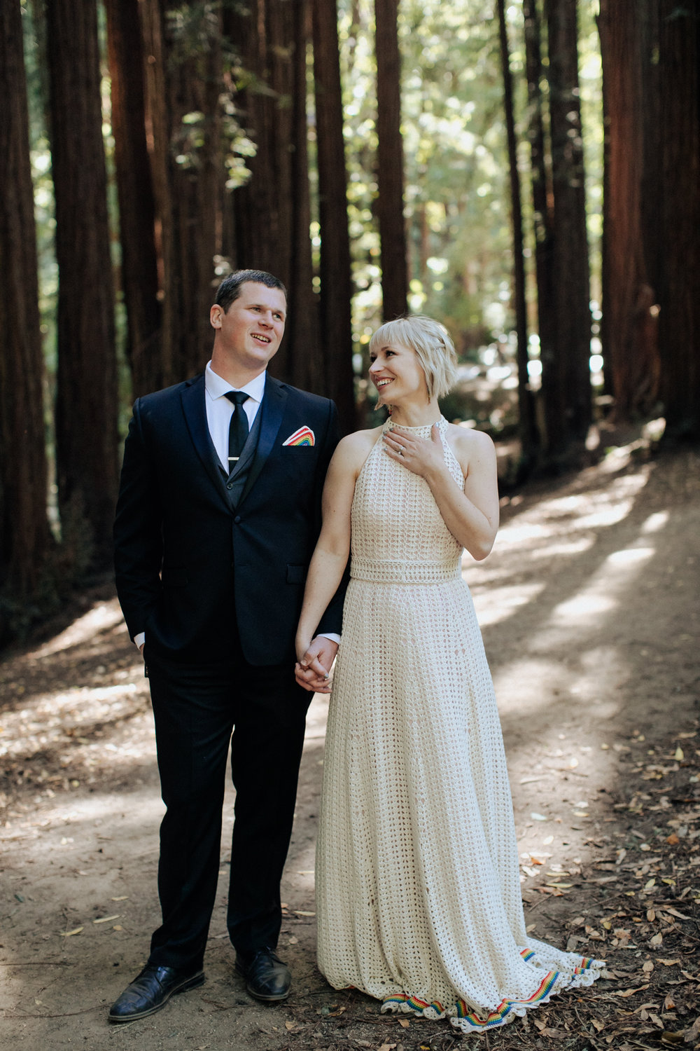 Mill Valley Wedding Portraits